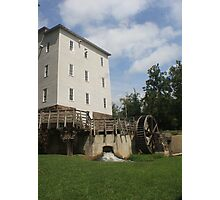 The Grist mill  Photographic Print