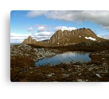 Cradle Mountain With Tarn Canvas Print