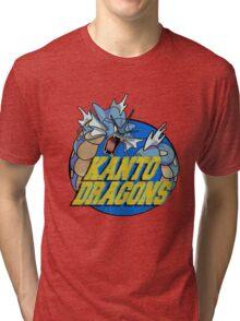 Kanto Dragons, Gyarados Tri-blend T-Shirt
