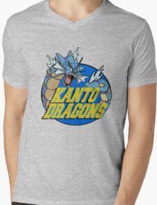Kanto Dragons, Gyarados Mens V-Neck T-Shirt