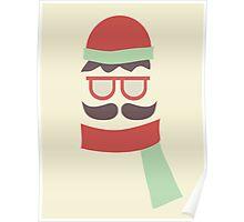 Moustache Man Poster