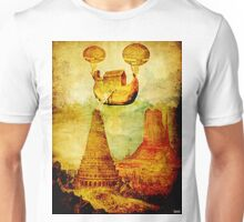 The Noah's Ark arrives on the tower of Babel Unisex T-Shirt