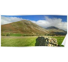 Kirk Fell & Great Gable Poster