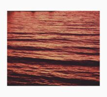 Sunset Waves Kids Tee