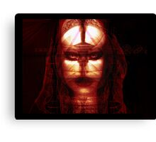 Godisnowhere666 . The God Head Canvas Print