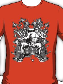 King's Throne of Barbells T-Shirt