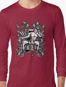King's Throne of Barbells Long Sleeve T-Shirt