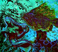 Submerged Courtship by Maraia