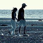 Walking In The Sand by Stan Owen