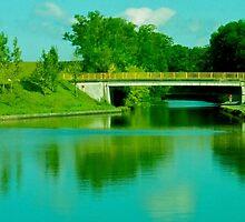Bridge in Alsace Lorraine by Sparklerpix