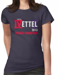 IVettel Womens Fitted T-Shirt