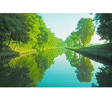 Reflections of Tow Path Photographic Print
