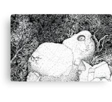 Sentry Rock or Indigenous Multi-tasking Canvas Print