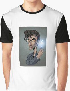 Dr who David Tenant  Graphic T-Shirt