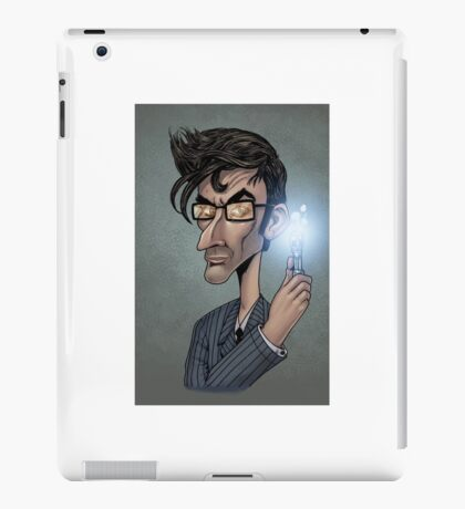Dr who David Tenant  iPad Case/Skin