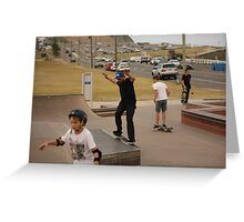 Smith Grind Greeting Card
