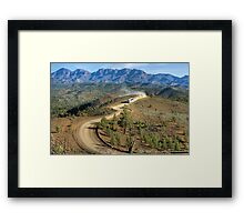 Outback Tour Framed Print
