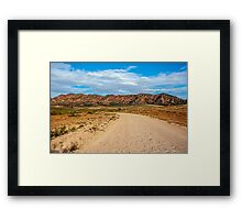 Outback Road Framed Print