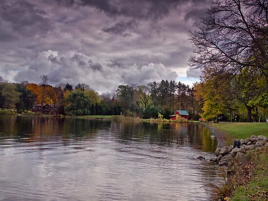 Edinboro Autumn by Kathy Weaver