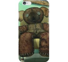 The Old and Unloved Teddy Bear iPhone Case/Skin
