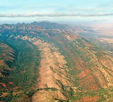 Outback Mountains by Ray Warren
