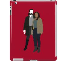 Abbie and Ichabod - Sleepy Hollow (2013) iPad Case/Skin