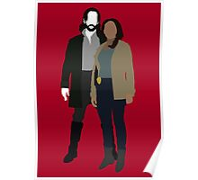 Abbie and Ichabod - Sleepy Hollow (2013) Poster