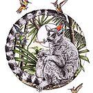 Party On Lemur by Squishysquid