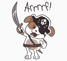 Pirate Puppy One Piece - Long Sleeve