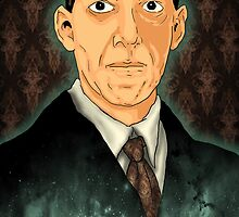 HP Lovecraft by nikolking