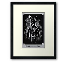 The Philosophy of Time Travel Black And white Framed Print
