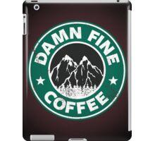 Damn Fine Coffee iPad Case/Skin