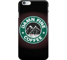 Damn Fine Coffee iPhone Case/Skin