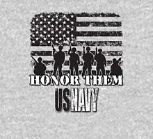 Honor Them-Navy Unisex T-Shirt