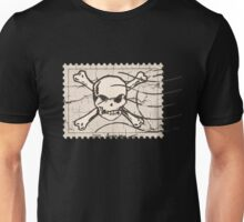 Skull Crack Stamp Unisex T-Shirt