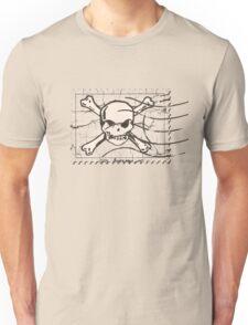 Skull Crack Stamp Unisex T-Shirt
