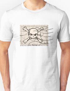 Skull Crack Stamp T-Shirt