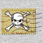 Skull Crack Stamp 2 by Nhan Ngo