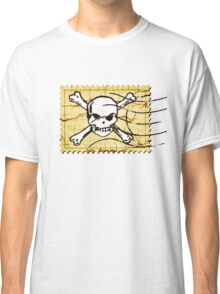 Skull Crack Stamp 2 Classic T-Shirt