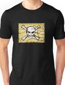 Skull Crack Stamp 2 Unisex T-Shirt