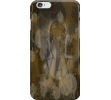Sepia Weeping Angel iPhone Case/Skin