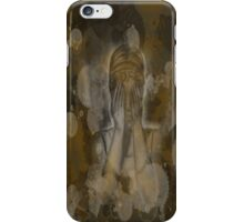 Sepia Weeping Angel iPhone Case/Skin