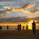 Beach Football by Pippa Carvell