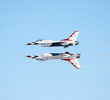Thunderbirds at Aviation Nation by gladyanne