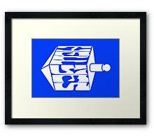 Hell Yes Hanukkah Framed Print