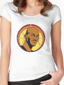 Jam Nouveau Emblem Women's Fitted Scoop T-Shirt