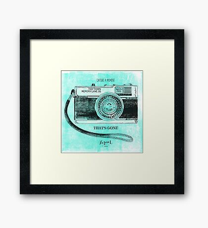 Capture Framed Print