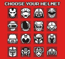 Choose Your Helmet (Red) by SamuriFerret