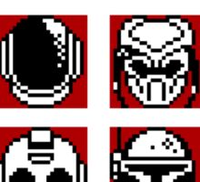 Choose Your Helmet (Red) Sticker