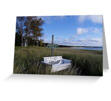 Whitefish Bay Greeting Card